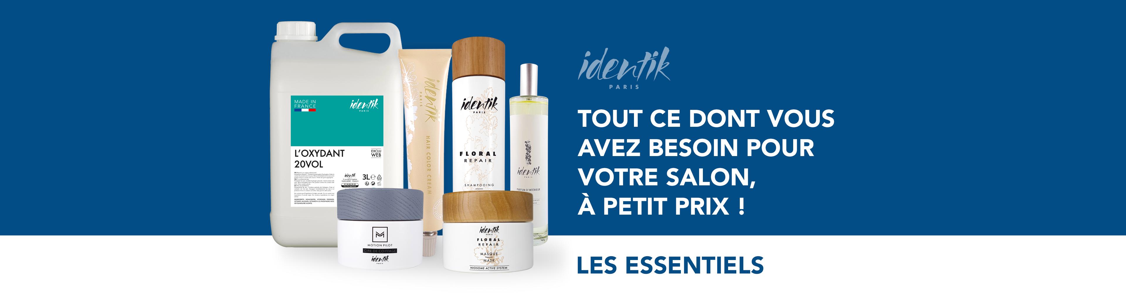 Les essentiels Identik : tout ce dont vous avez besoin pour votre salon à petit prix !